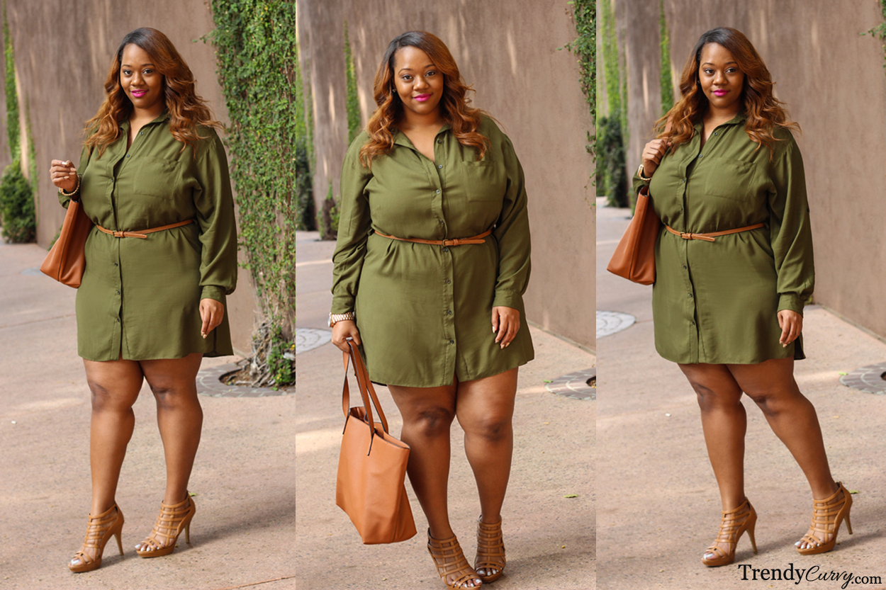 4 Ways To Wear A Shirt Dress