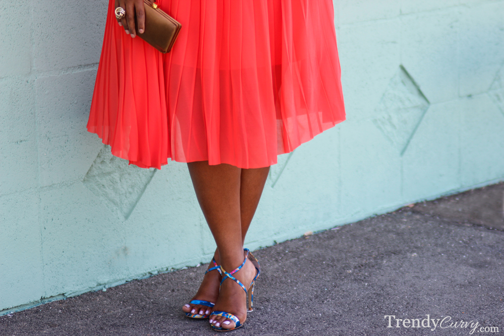 Coral Pleats 3