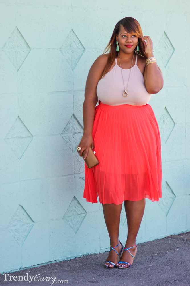 Coral Pleats 5