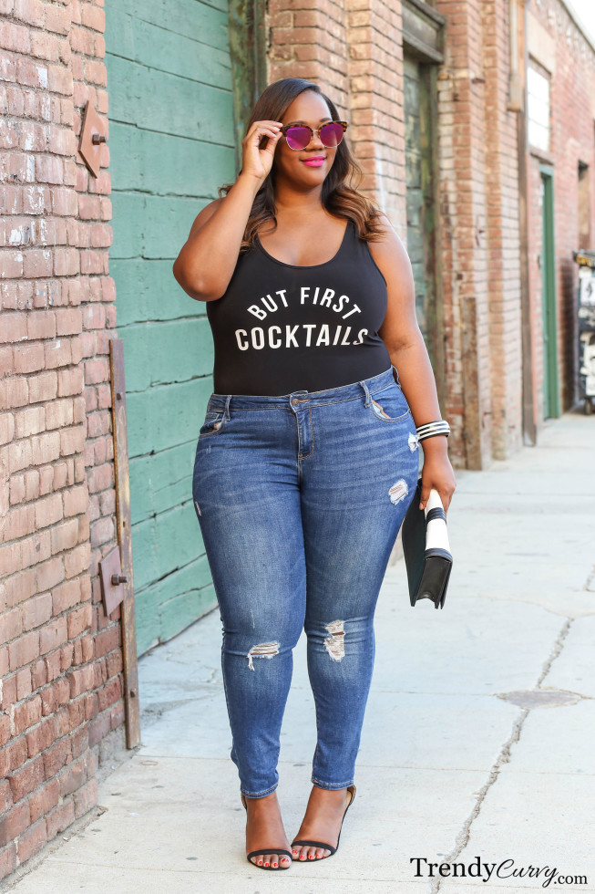 But First Cocktails Trendy Curvytrendy Curvy