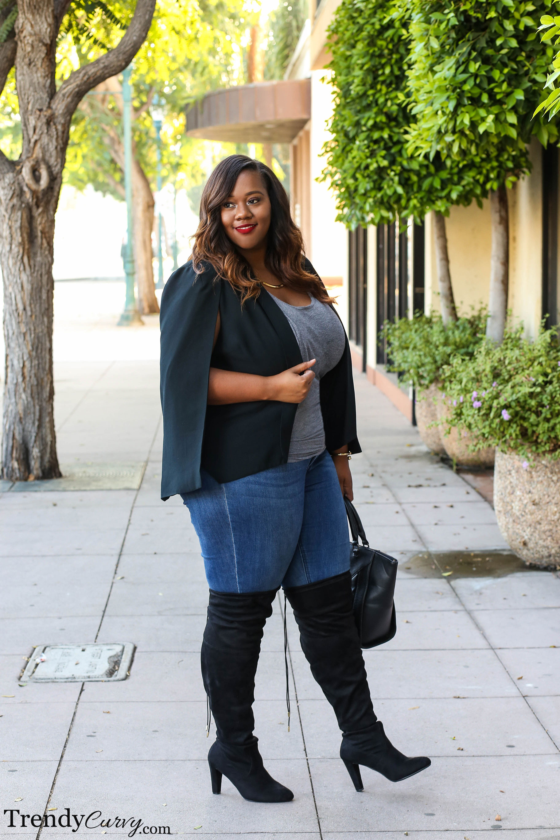 Over The Knee - Trendy CurvyTrendy Curvy