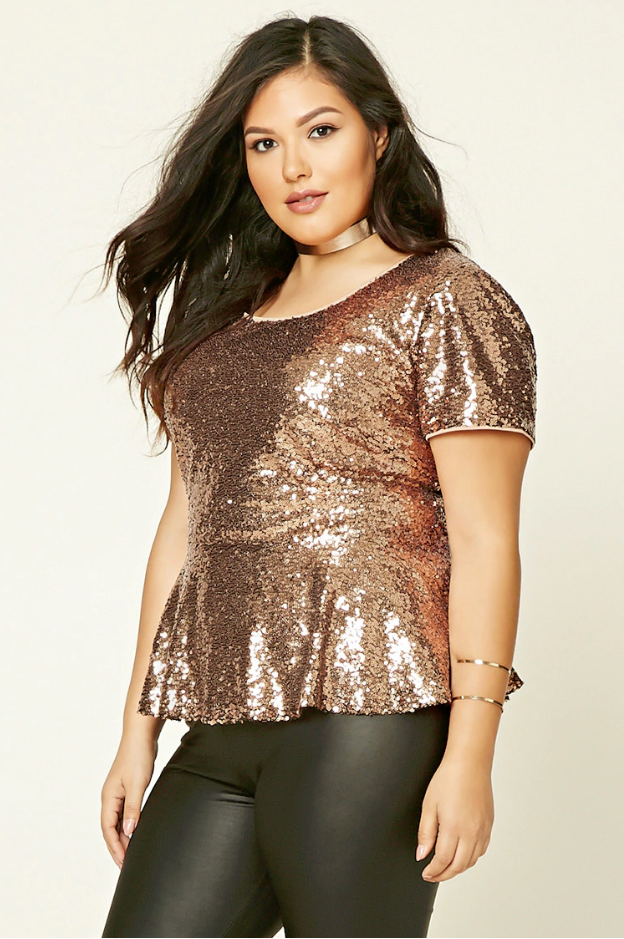 Plus Size Dress Tops