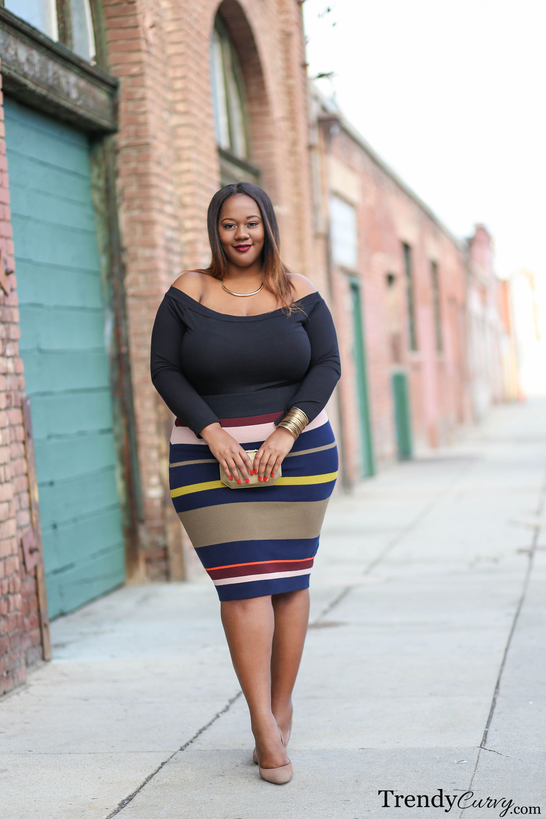 It S A Good Time To Be In The Plus Size Market: Striped Right