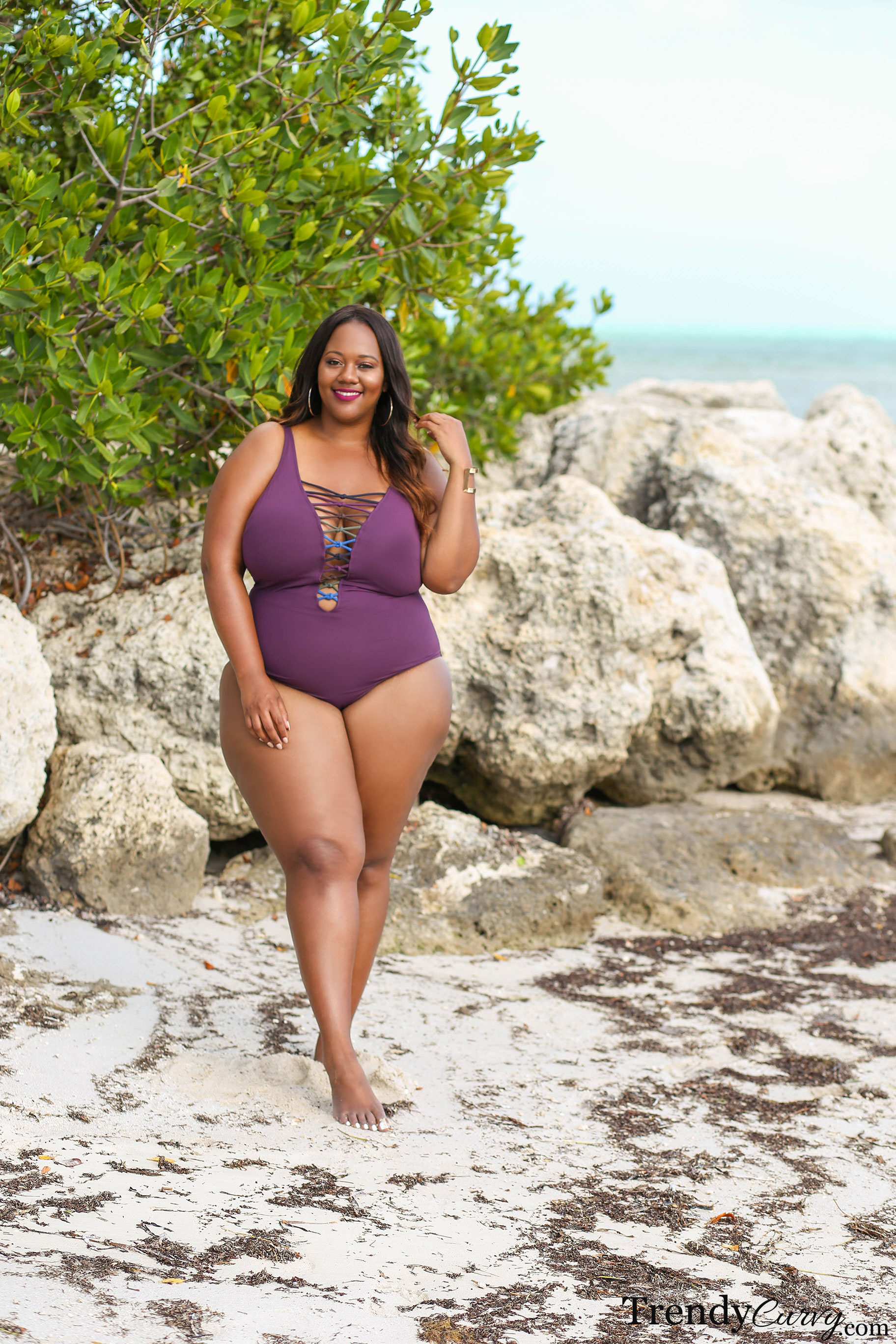 351a024b69a Plus Size Swimsuits Lookbook 2018 - Trendy CurvyTrendy Curvy