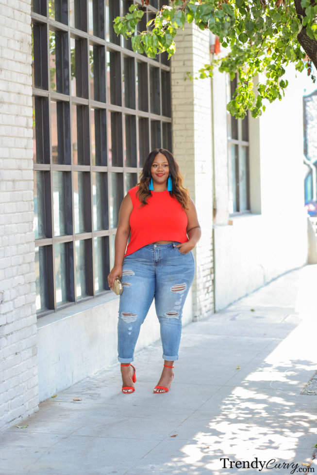 Plus Size Spring Colorful Outfit
