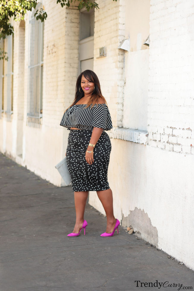 Plus Size Mixed Prints