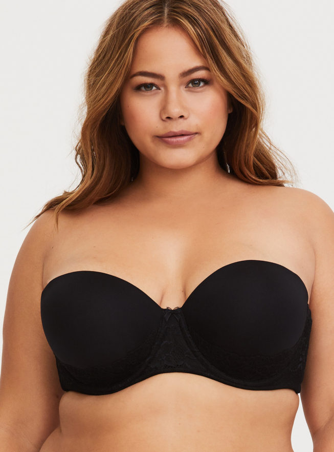 Torrid Push Up Strapless Bra Big Bust