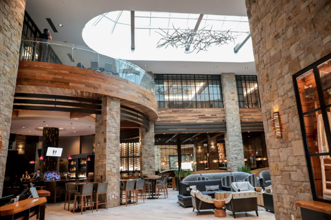Archer Hotel Napa Lobby