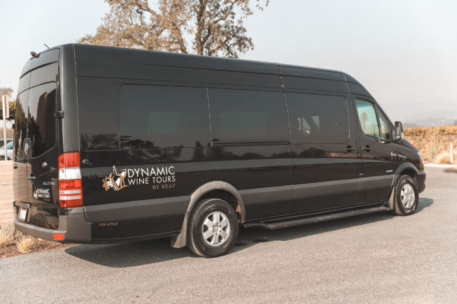 Dynamic Wine Tours Mercedes Sprinter