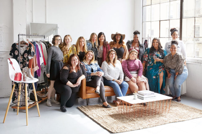 Stitch Fix Employees Group Shot
