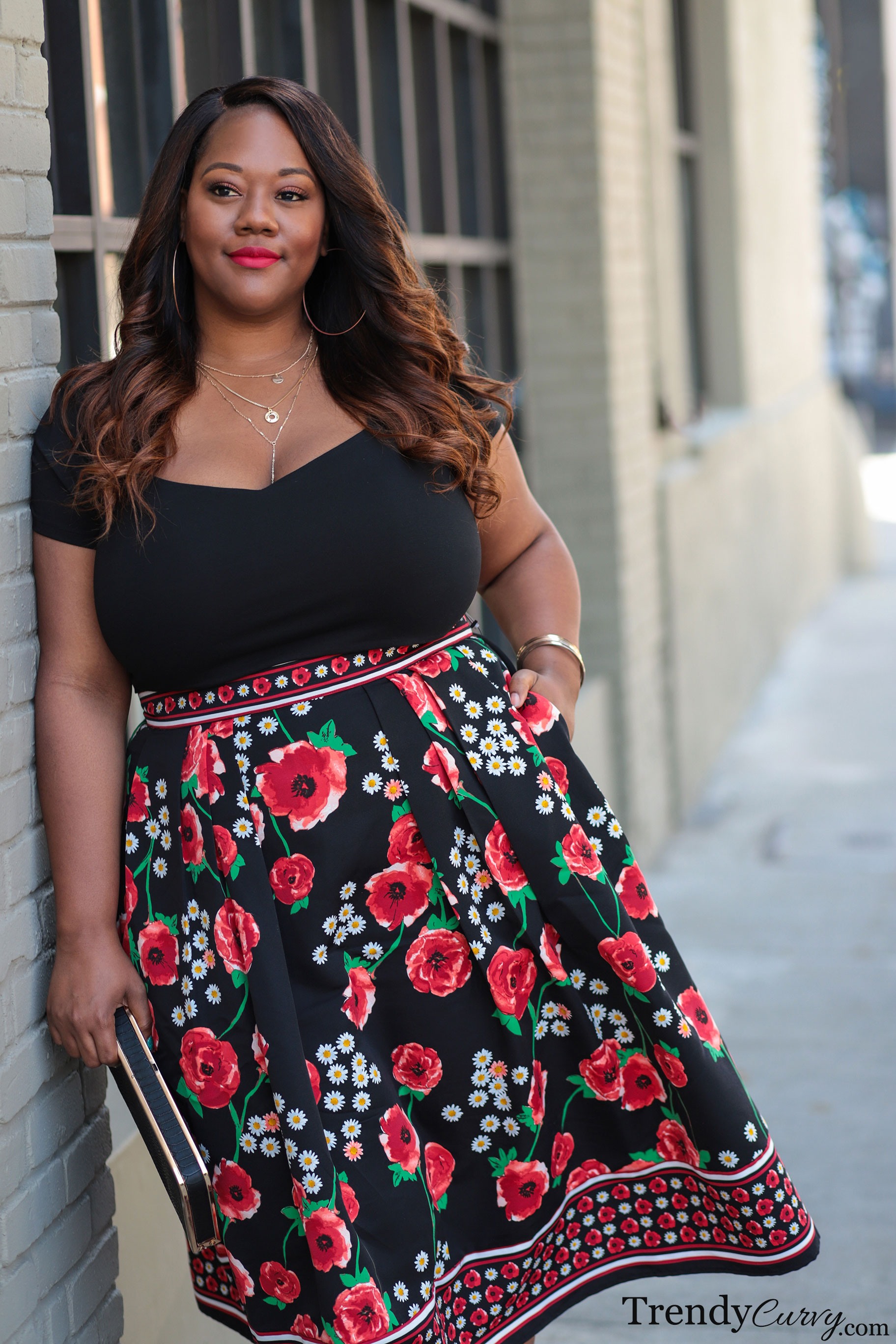 54f065743ef One of the things that I love most about midi skirts is that they look  great on everyone. I know that there are a lot of different body types that  follow my ...